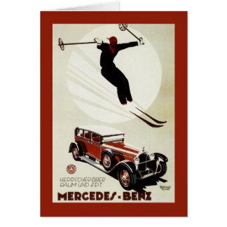 Carte L'Allemagne - sauter de skieur