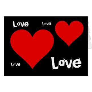 Carte L'amour est tout que vous avez besoin