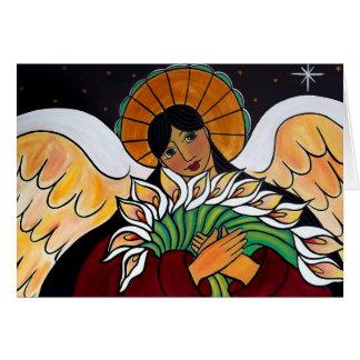 Carte L'ange avant janvier Oliver de résurrection