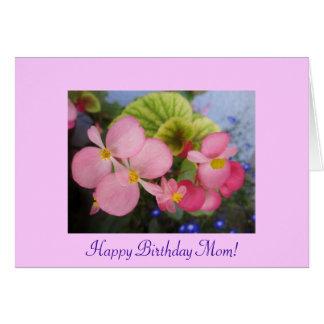 Carte L'anniversaire de la maman