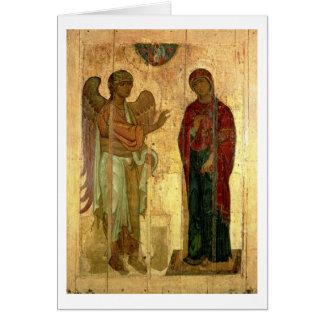 Carte L'annonce d'Ustiug, c.1130-40 (tempera sur la
