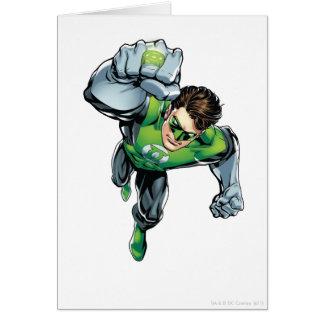 Carte Lanterne verte - comique, augmenter de bras