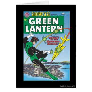 Carte Lanterne verte - missile d'emballement