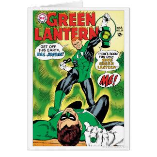Carte Lanterne verte - obtenez outre de cet Earch Hal