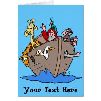 Carte - l'arche de Noé