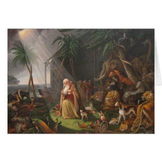 Carte L'arche de Noé par Charles Wilson Peale - Circa