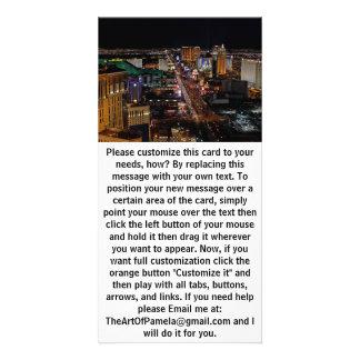 Carte Las Vegas la nuit