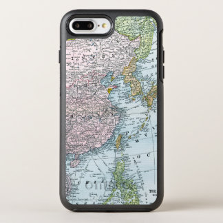 CARTE : L'ASIE DE L'EST, 1907 COQUE OtterBox SYMMETRY iPhone 8 PLUS/7 PLUS