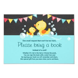 Carte Le baby shower de caneton apportent un canard en