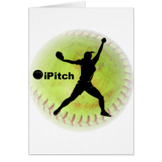 Carte le base-ball de Fastpitch d'iPitch
