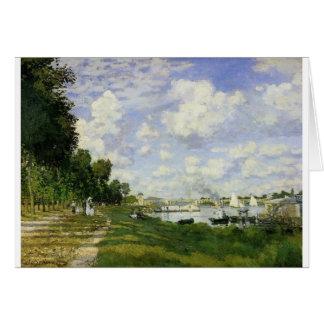 Carte Le bassin à Argenteuil - Claude Monet