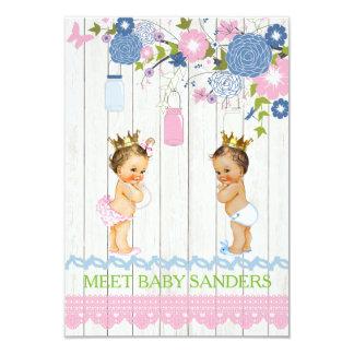 Carte Le bébé de pot de maçon de pays indiquent