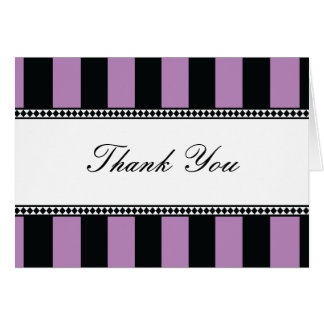 Carte Le café noir et lilas barre la note de Merci