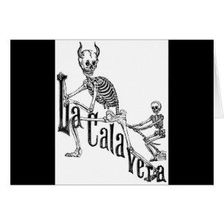Carte Le Calavera infernal. Le jour des morts