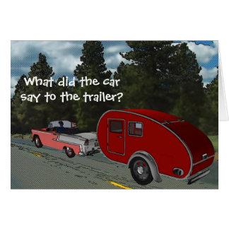 Carte Le camping est ma vie