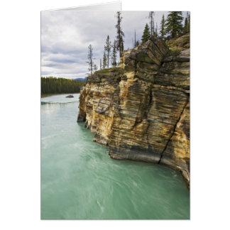 Carte Le Canada, Alberta, parc national de jaspe,
