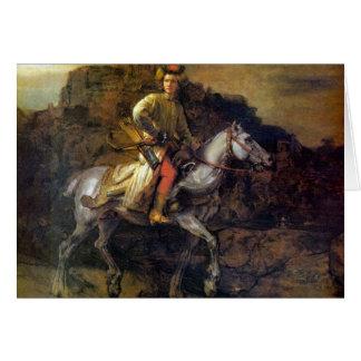 Carte Le cavalier polonais par Rembrandt Harmenszoon van