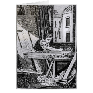 Carte Le charpentier