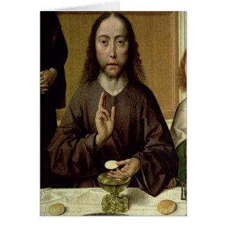 Carte Le Christ bénissant 2