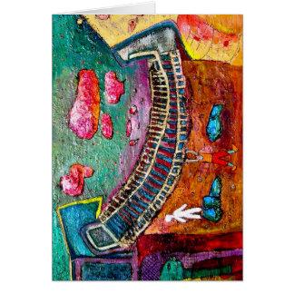 Carte Le conte de fées d'Ashesha de scène de pont
