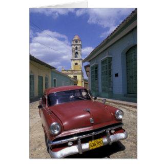 Carte Le Cuba, vieux village colonial du Trinidad