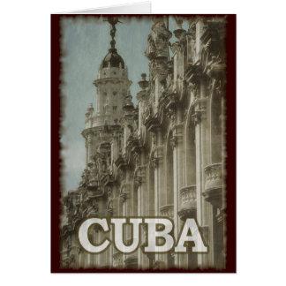 Carte Le Cuba vintage