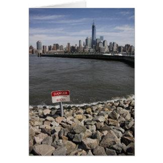 Carte Le danger bascule l'horizon de New York