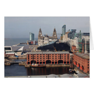 Carte Le dock d'Albert - Liverpool