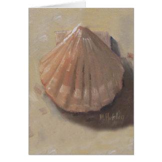 Carte Le feston Shell échouent le coquillage