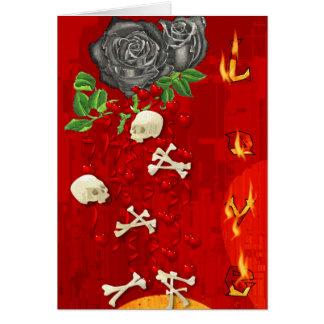 Carte Le feu brûlant d'amour