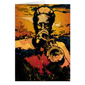 Carte Le feu de trompette