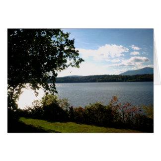Carte Le fleuve Hudson - manoir de Clermont