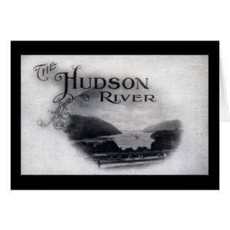 Carte Le fleuve Hudson, New York, cru 1921