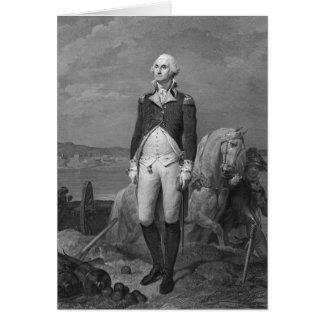 Carte Le Général George Washington 1839
