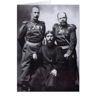 Carte Le Général Putyatin colonel Lotman de Grigori