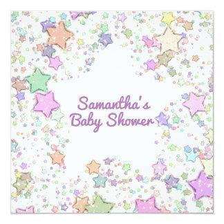 Carte Le genre neutre/indiquent des étoiles de baby