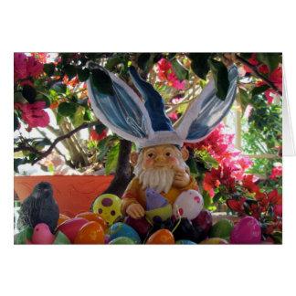 Carte Le gnome de Pâques