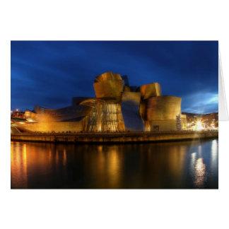 Carte Le Guggenheim - Bilbao, Espagne
