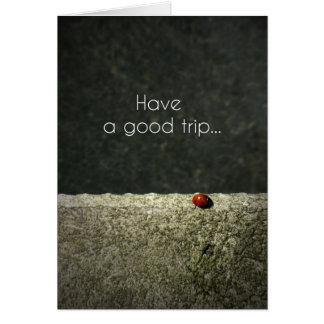 Carte Le Have a good la défonce card - ladybug