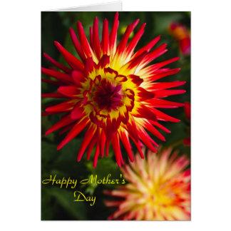 Carte Le jour de mère heureux