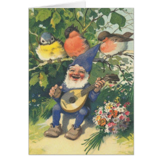 Carte Le joyeux gnome musical