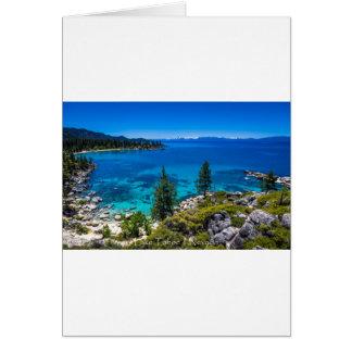 Carte Le lac Tahoe