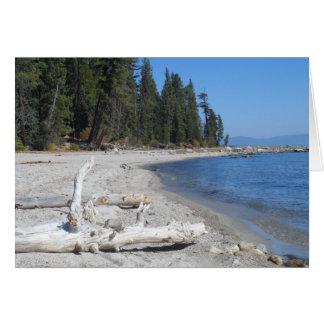 Carte Le lac Tahoe, CA