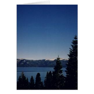 Carte Le lac Tahoe, Nevada
