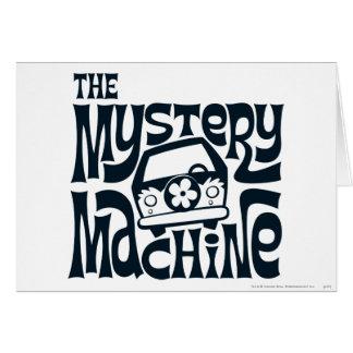 Carte Le logo 16 de machine de mystère