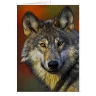 Carte Le loup