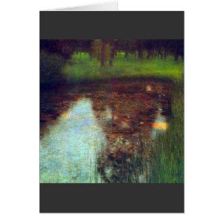 Carte Le marais par Gustav Klimt