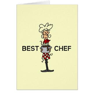 Carte Le meilleur chef