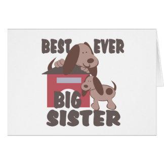 Carte Le meilleur chenil de grande soeur jamais