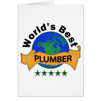 Carte Le meilleur plombier du monde